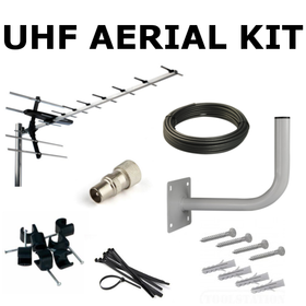 Saorview UHF Aerial Kit (Medium Gain)