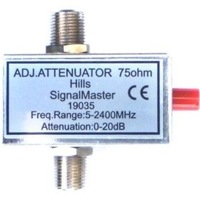 Adjustable 20dB Attenuator (F-Type)