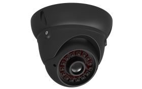 Revez 800TVL Dome Camera, 2.8-12mm Lens, Black