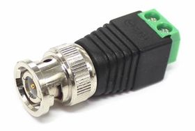 BNC Male Connector - Screw Termination