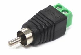 RCA Male Connector - Screw Termination