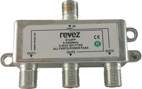 3 Way Powerpass Splitter (All ports)