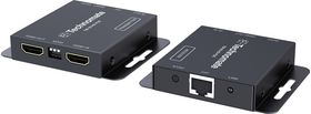 HDMI Extender Over Single CAT5/6 PoE with IR Control and HDMI Loop-Through
