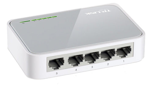 TP-LINK 5 Port Network Desktop Switch 10/100
