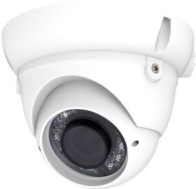 Revez 800TVL Dome Camera, 2.8-12mm Lens, White