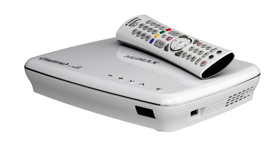 Humax HDR-1100S Freesat+HD Freetime 500GB Recorder (white)