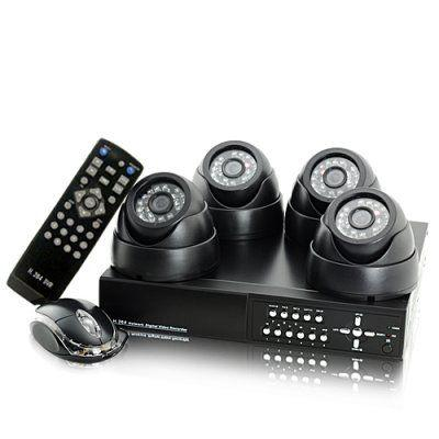CCTV Package Supplied & Fitted (4 Camera system)