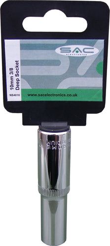 S.A.C. 10mm 3/8 (Deep) Socket