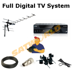 Full Irish and UK Digital Combo TV System supply and fit