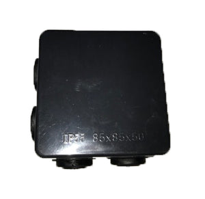 IP55 80mmx80mmx50mm Connection Box BLACK