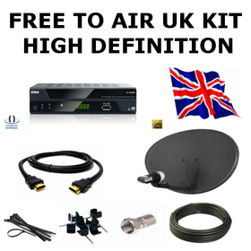 UK Free To Air Kit (High Definition)