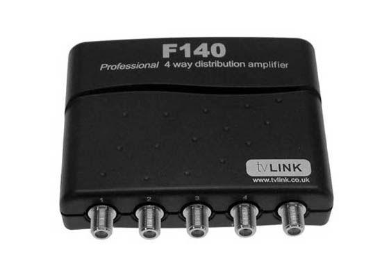 Global F140 4-way Distribution Amplifier (tvLINK)