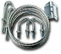 Lashing Kit for Aerial Brackets (50mm U-Bolt)