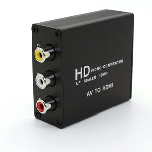 Mini Composite RCA CVBS AV To HDMI Converter
