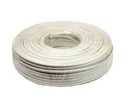 Telephone Cable (100m- White)