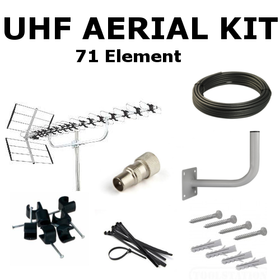 Saorview UHF Aerial Kit (Ultra High Gain)