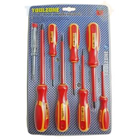 8 PC Electricians VDE Screwdrivers & Tester Set