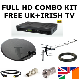 Full UK & Irish TV Combo Kit