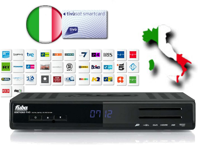 Tivusat Italian High Definition TV Package (PVR Ready)