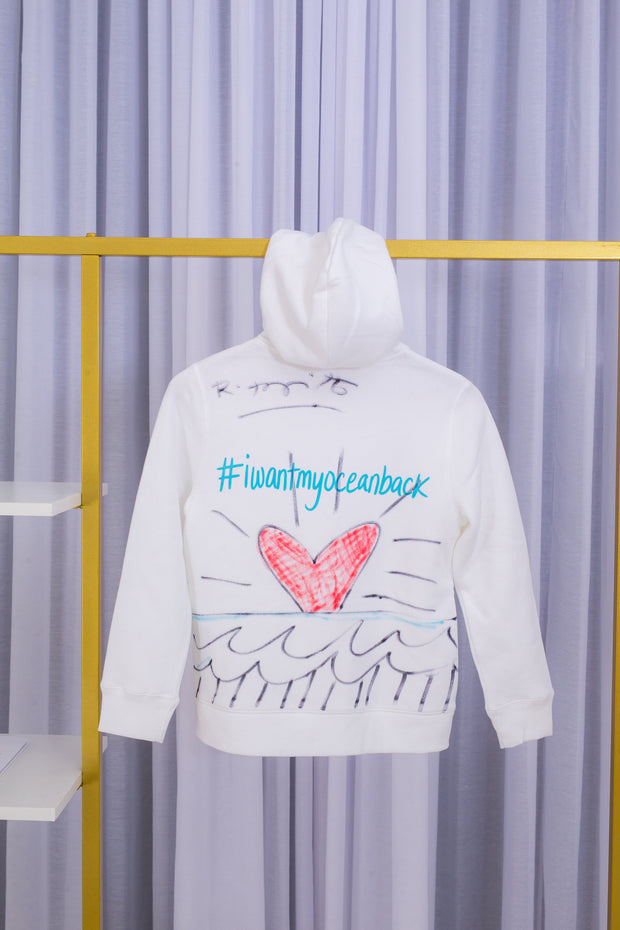 Iwantmyoceanback x Romero Britto SIGNED Hoodie