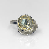 Karin Jacobson - Faceted Globe Ring