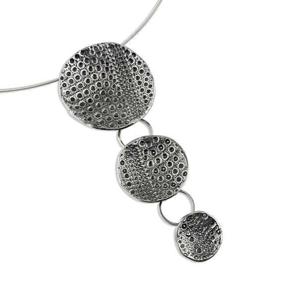 Sea Urchin Necklace silver cast