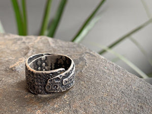 Wide Sea Urchin Ring