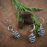 Cast Alder Cone Necklace