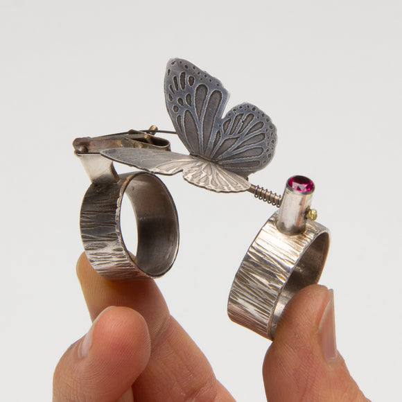 Richard Salley - Kinetic Butterfly Ring