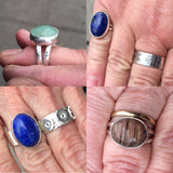 July 18 – 19: Beginning Jewelry Series: Rings