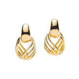 Bell Earrings in Gold