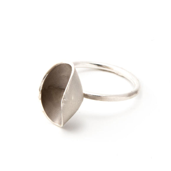 Fairy Cup Silver Stacking Ring sterling silver