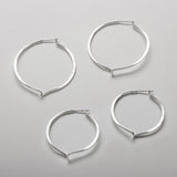Mobius Twist Hoops