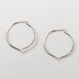 Mobius Twist Hoops - Small
