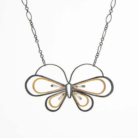 Hopeful Butterfly Necklace