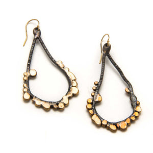 Seed Teardrop Earrings