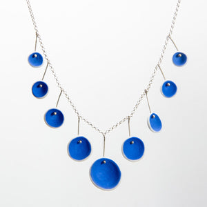 Periwinkle Porcelain Necklace