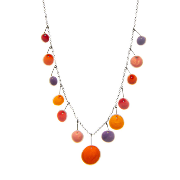 Sunset Porcelain Necklace