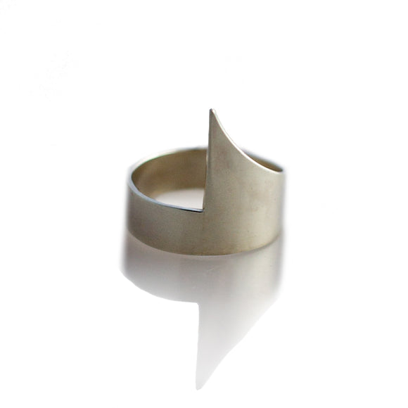 Spear Ring sterling silver