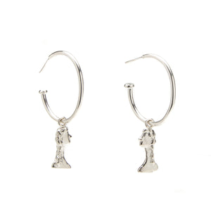 Bust Charm Earrings