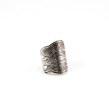 Layered Lace Embossed Ring