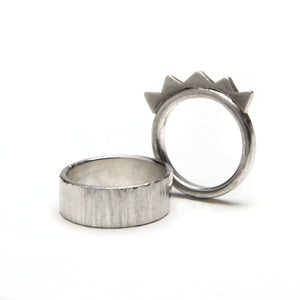 Fun Silver Stack Ring Set