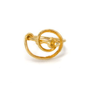 """Spiral"" Ring in Gold or Silver"