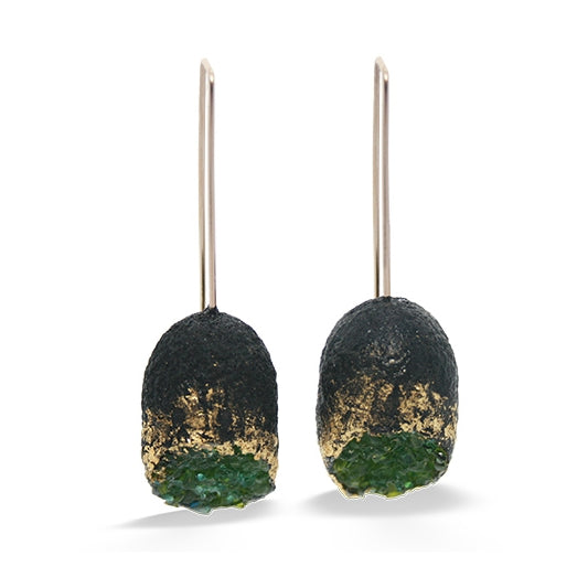 Midnight Reflection Earrings