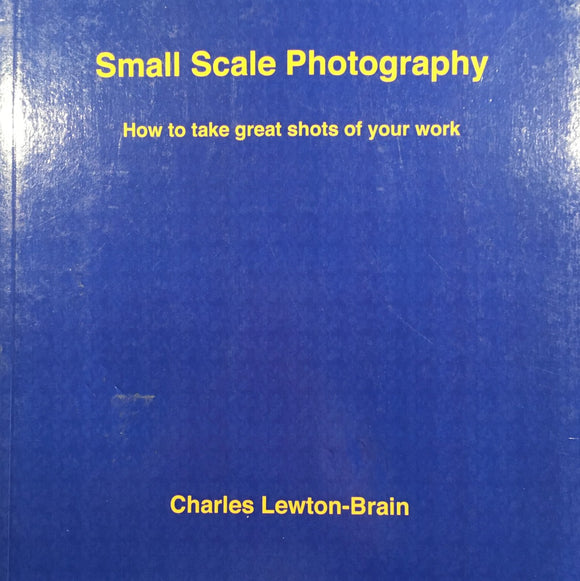 Small Scale Photography Book by Itself