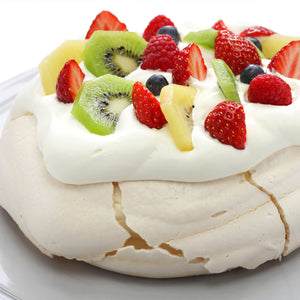 Pavlova with Greek Style Yogurt
