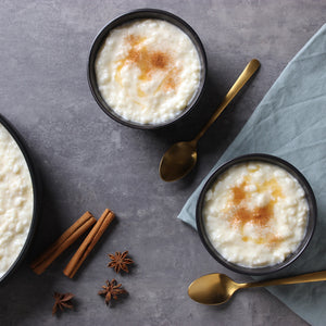 Spiced Vanilla Rice Pudding