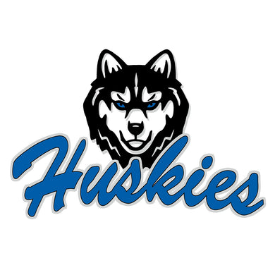 Hunterdon Huskies Pin