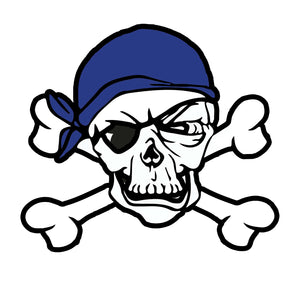 Point Pleasant Pirates Pin