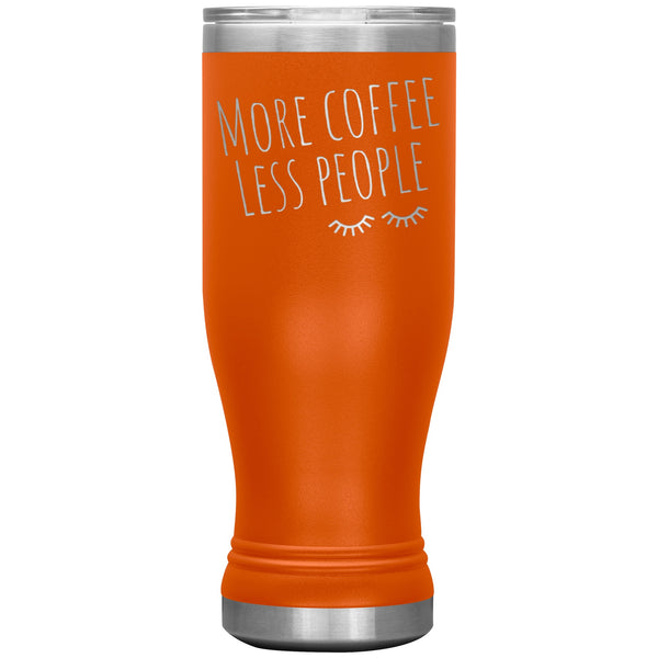 Tumblers - More Coffee Less People - 20oz Tumbler